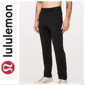 LULULEMON BLACK SWEAT PANTS MEDIUM